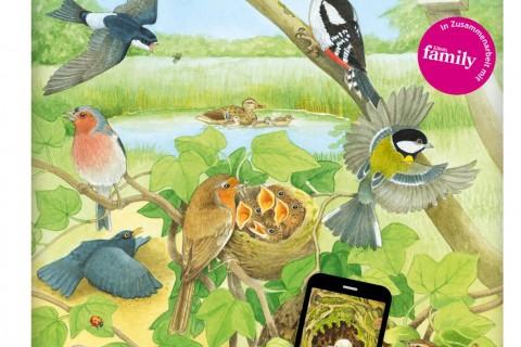 Alle Vögel sind schon da!, Buch, App, lesen, Linktipp, leyo, Carlsen