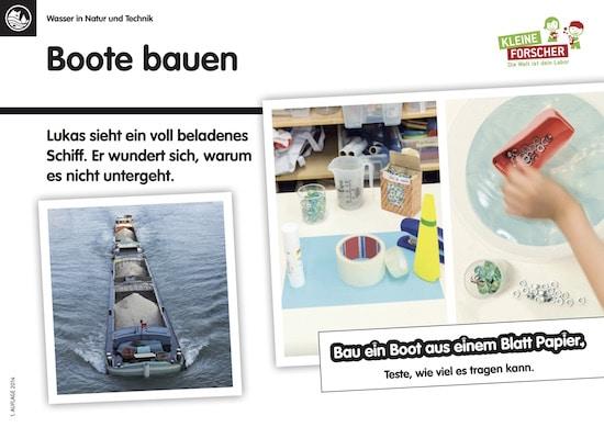 Haus der kleinen Forscher, forschen, Experimente, Linktipp, Download, Kinder, Schule, Kindergarten