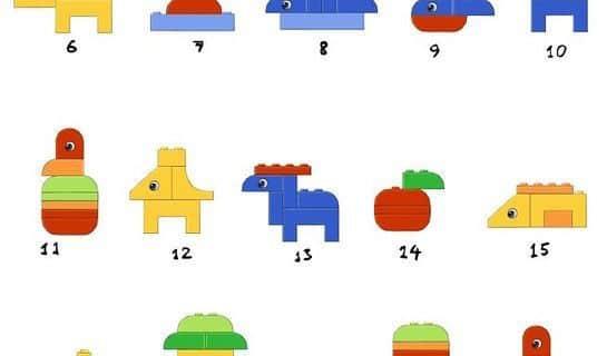 Lego Turme Und Einfache Figuren Wunderwerkstatt