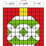 Malen nach Zahlen (Weihnachtlicher Minibloghop)