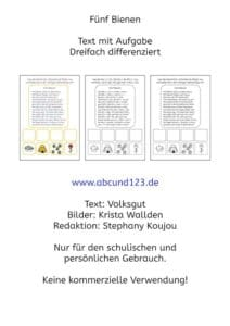 Text, lesen, Legasthenie, Legathenietraining, Stephany Koujou, Koujou, AFS-Methode, Lesetext, Differenzierung